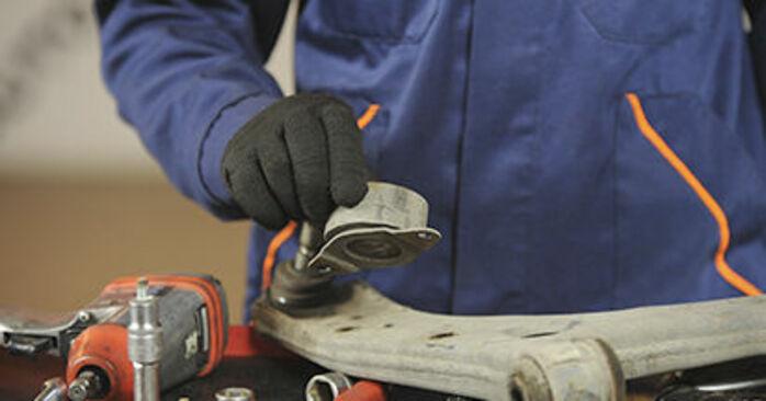 3 (BK) 1.4 2007 Control Arm DIY replacement workshop manual