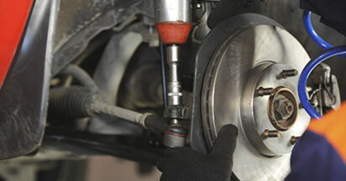 Changing Control Arm on MAZDA 3 (BK) 2.3 MPS Turbo 2006 by yourself