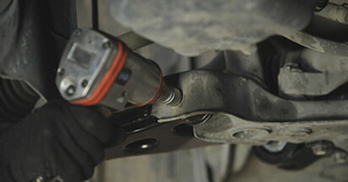 How to replace Control Arm on MAZDA 3 (BK) 2008: download PDF manuals and video instructions