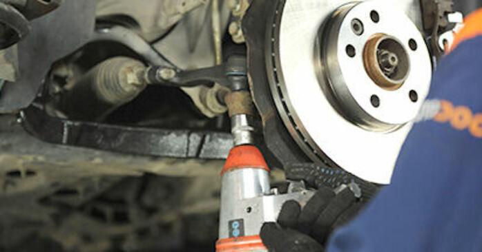 Spurstangenkopf Ihres VW T5 Pritsche 1.9 TDI 2011 selbst Wechsel - Gratis Tutorial