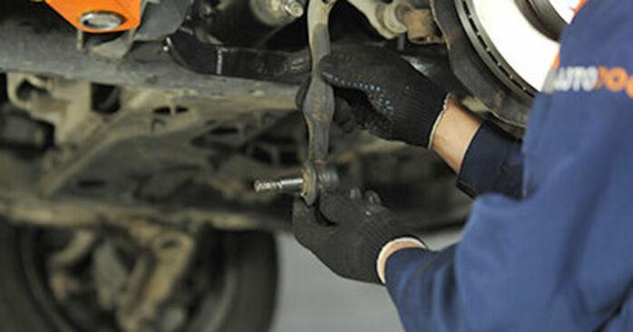 Spurstangenkopf am VW Transporter V Pritsche / Fahrgestell (7JD, 7JE, 7JL, 7JY, 7JZ, 7FD) 2.0 BiTDI 4motion 2008 wechseln – Laden Sie sich PDF-Handbücher und Videoanleitungen herunter