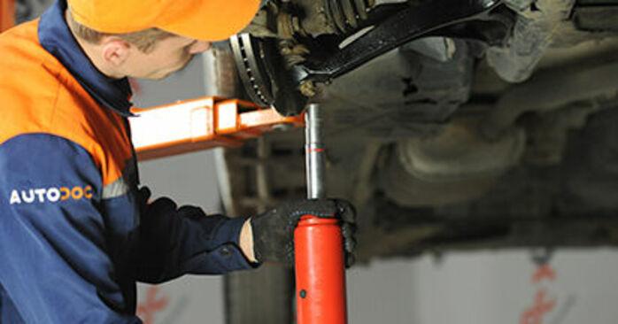 Querlenker Ihres VW T5 Pritsche 1.9 TDI 2011 selbst Wechsel - Gratis Tutorial