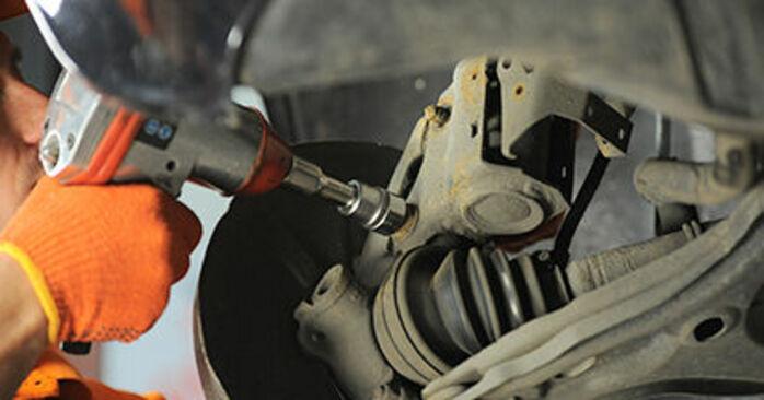 AUDI 80 1994 Βάση Αμορτισέρ: εγχειρίδιο αντικατάστασης βήμα προς βήμα