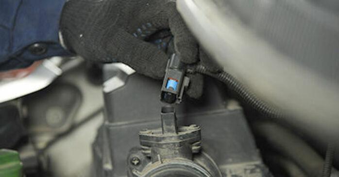 Recommandations étape par étape pour remplacer soi-même VW T5 Сamion à Plateau 2003 2.0 TDI 4motion Coupelle d'Amortisseur