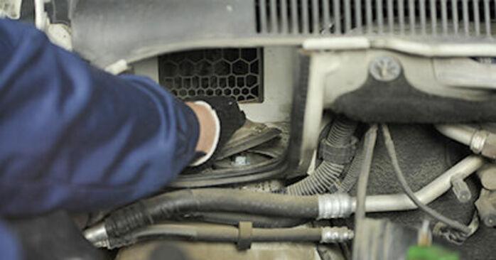 À quel point est-il difficile de le faire soi-même : télécharger le guide illustré pour le changement de Coupelle d'Amortisseur sur VW T5 Сamion à Plateau 2.5 TDI 2009