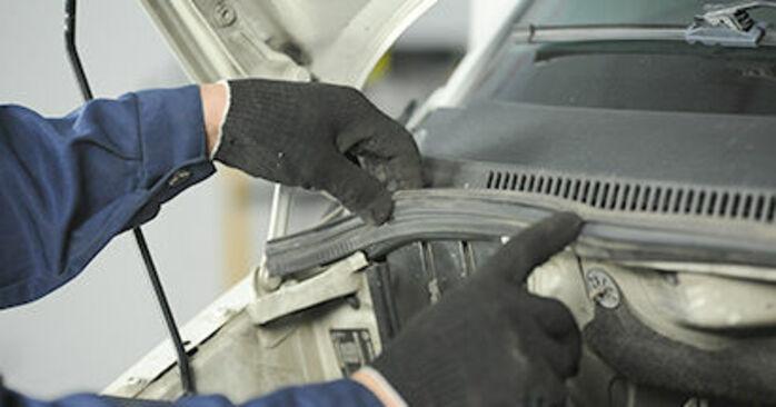 VW T5 Сamion à Plateau 2.5 TDI 4motion 2005 Coupelle d'Amortisseur remplacement : manuels d'atelier gratuits