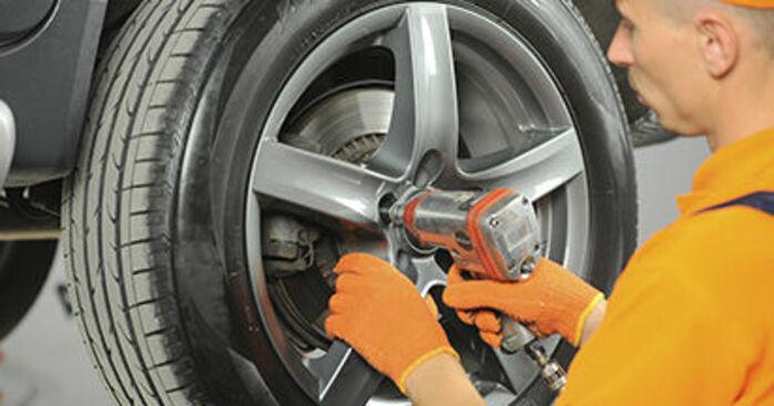 Wie Bremsscheiben Volvo XC90 1 2.4 D5 2002 tauschen - Kostenlose PDF- und Videoanleitungen