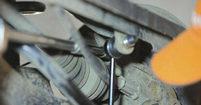 Austauschen Anleitung Radlager am Volvo XC90 1 2012 2.4 D5 selbst