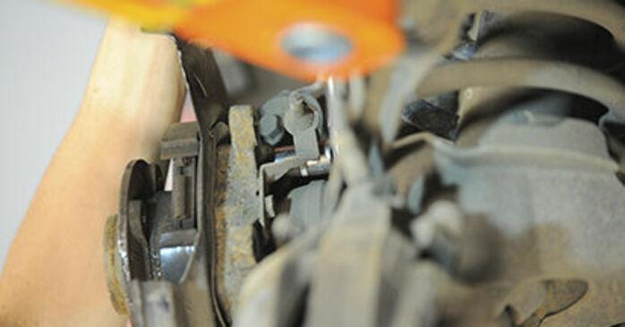 XC90 I (275) 3.2 AWD 2013 Łożysko koła instrukcje warsztatowe samodzielnej wymiany