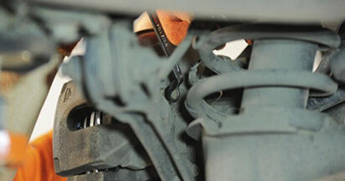 Wechseln Radlager am VOLVO XC90 I (275) 4.4 V8 2005 selber
