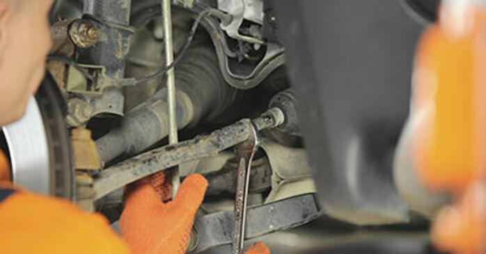 Wechseln Spurstangenkopf am VOLVO XC90 I (275) 4.4 V8 2005 selber