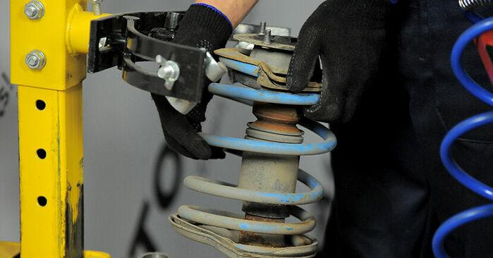 BMW 3 SERIES 316i 1.9 Domlager ausbauen: Anweisungen und Video-Tutorials online