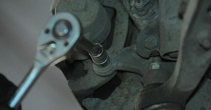 Bremsscheiben BMW E36 Compact 323ti 2.5 1996 wechseln: Kostenlose Reparaturhandbücher