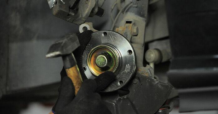 Recommandations étape par étape pour remplacer soi-même BMW E36 Compact 2000 318tds 1.7 Roulement De Roues