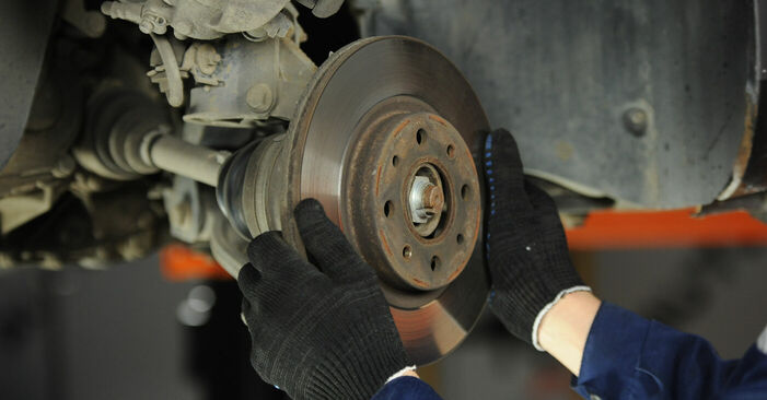 How to change Brake Discs on Fiat Punto 188 1999 - free PDF and video manuals