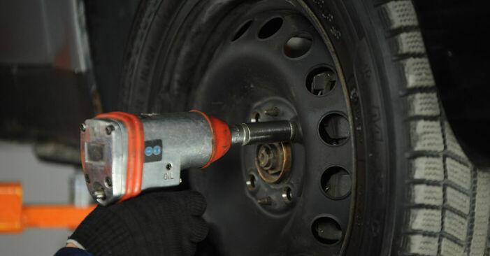 Sostituendo Testina dello Sterzo su Fiat Punto 188 2009 1.2 60 da solo