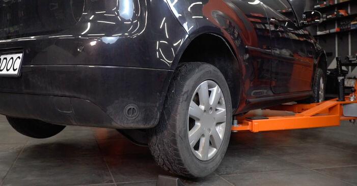 Wie Koppelstange VW GOLF V (1K1) 1.6 2004 austauschen - Schrittweise Handbücher und Videoanleitungen