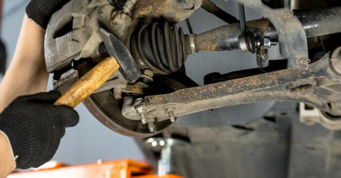 Så byter du Länkarm på VW Golf V Hatchback (1K1) 2008: ladda ned PDF-manualer och videoinstruktioner