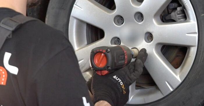 Wechseln Koppelstange am VW GOLF V (1K1) 1.6 FSI 2006 selber