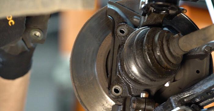 Bremsscheiben Ihres Fiat Punto 188 1.9 DS 60 2007 selbst Wechsel - Gratis Tutorial