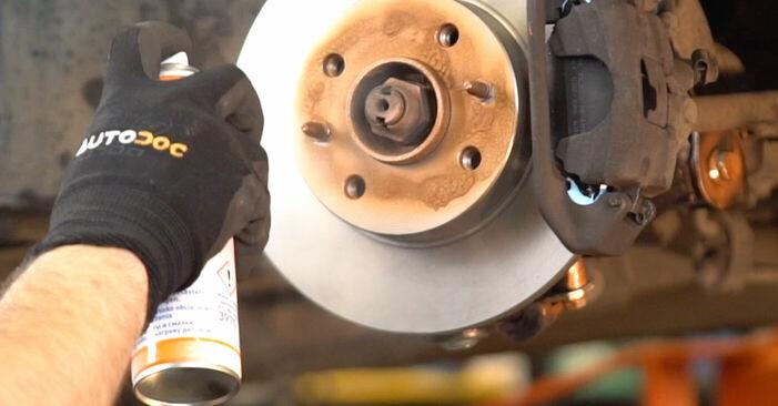 Schritt-für-Schritt-Anleitung zum selbstständigen Wechsel von Fiat Punto 188 2012 1.9 JTD Bremsscheiben
