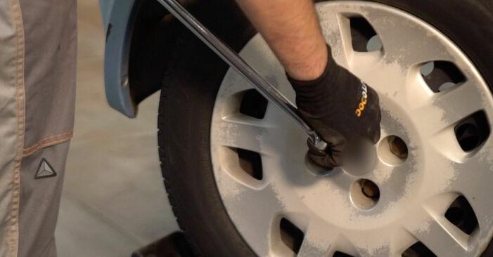 Come sostituire FIAT PUNTO (188) 1.2 60 2000 Cuscinetto Ruota - manuali passo passo e video guide