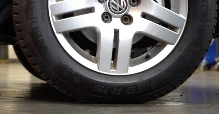 Wechseln Koppelstange am VW GOLF IV (1J1) 1.9 TDI 2000 selber