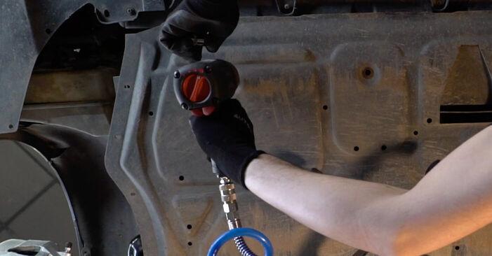 Wechseln Keilrippenriemen am VW GOLF V (1K1) 1.6 FSI 2006 selber
