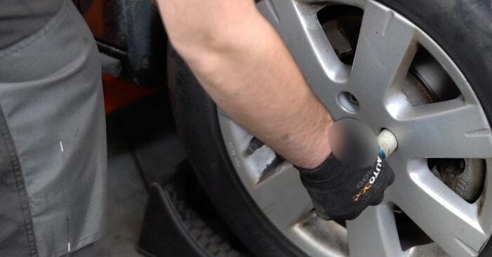 Så byter du VW Golf V Hatchback (1K1) 1.9 TDI 2004 Styrled – manualer och videoguider att följa steg för steg