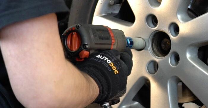 Så tar du bort VW GOLF 2.0 TDI 16V 2007 Hjullager – instruktioner som är enkla att följa online