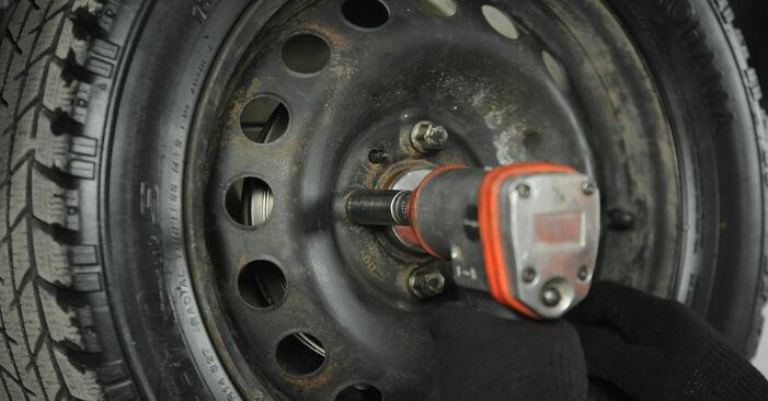 Como trocar Cilindro do Travão da Roda no Fiat Punto 188 1999 - manuais gratuitos em PDF e vídeo