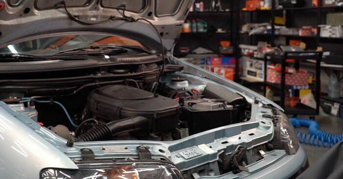 Austauschen Anleitung Zündkerzen am Fiat Punto 188 2009 1.2 60 selbst