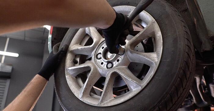 Wie FIAT 500 1.2 LPG 2013 Bremsbeläge ausbauen - Einfach zu verstehende Anleitungen online