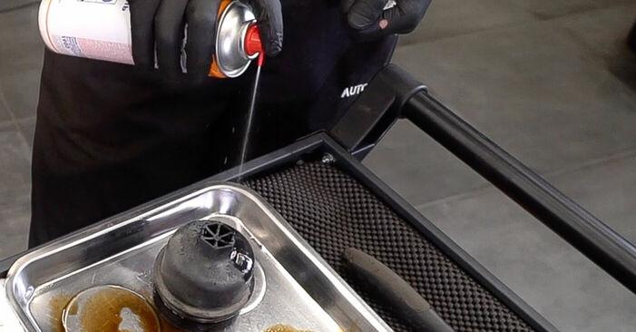 Tausch Tutorial Ölfilter am FIAT 500 (312) 2019 wechselt - Tipps und Tricks
