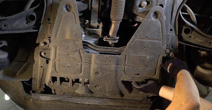 Wie FIAT 500 1.2 LPG 2011 Ölfilter ausbauen - Einfach zu verstehende Anleitungen online