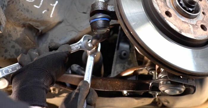 Spurstangenkopf Toyota Aygo ab1 1.0 GPL (KGB10_) 2007 wechseln: Kostenlose Reparaturhandbücher