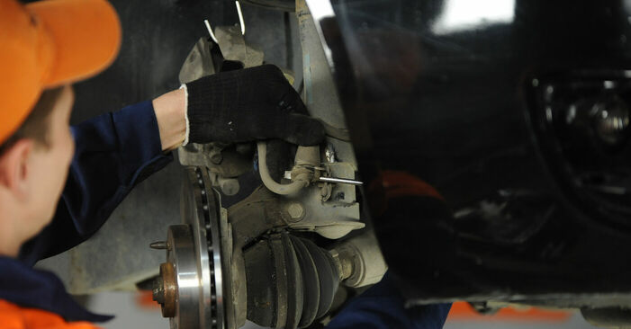 How to replace Wheel Bearing on FIAT PUNTO (188) 2004: download PDF manuals and video instructions