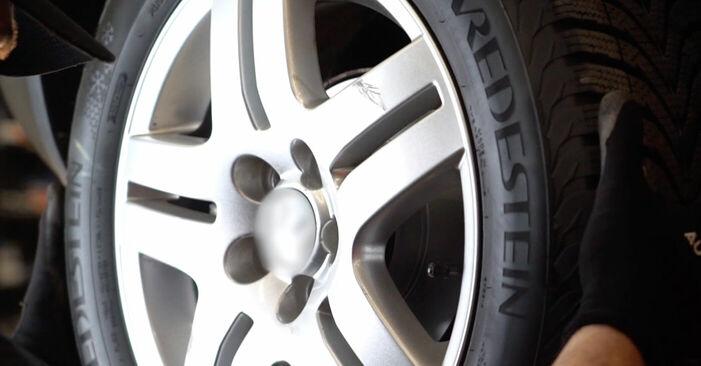 Manualul de înlocuire pas cu pas VW GOLF 2004 Arc spirala