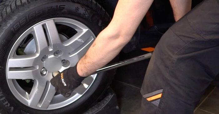 Înlocuirea VW GOLF 1.6 16V Arc spirala: ghidurile online și tutorialele video
