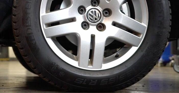 Byt VW GOLF 1.6 16V Styrled: guider och videoinstruktioner online