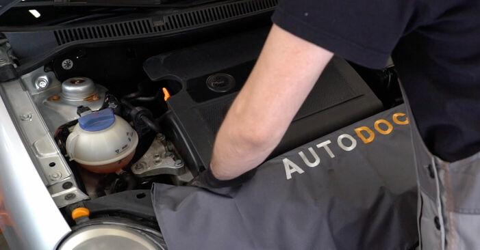 Cum să înlocuiți VW POLO (9N_) 1.4 16V 2002 Bujie – manualele pas cu pas și ghidurile video