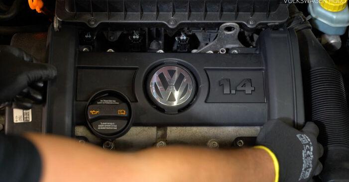 πώς αλλαγη VW POLO 1.9 TDI 2005 Πολλαπλασιαστής -online ευκολονόητες οδηγίες