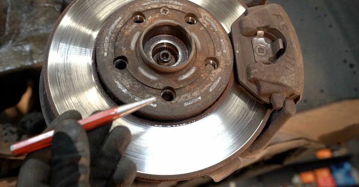 Federn Polo 9n 1.4 TDI 2003 wechseln: Kostenlose Reparaturhandbücher