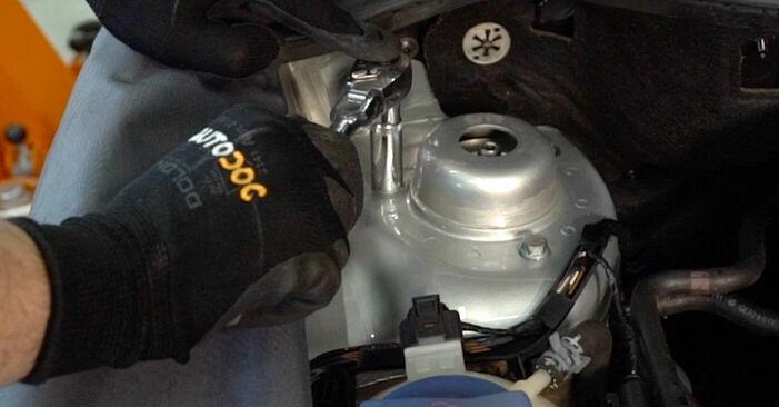 Wechseln Federn am VW POLO (9N_) 1.2 2004 selber
