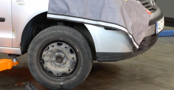 Federn beim VW POLO 1.2 12V 2008 selber erneuern - DIY-Manual