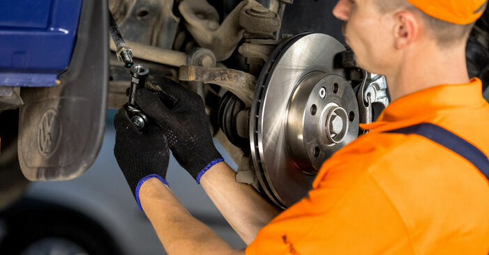 Austauschen Anleitung Spurstangenkopf am VW T4 Transporter 2000 2.5 TDI selbst
