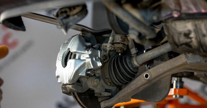 Come cambiare Braccio Oscillante su VW Transporter IV Bus (70B, 70C, 7DB, 7DK, 70J, 70K, 7DC, 7DJ) 2002 - suggerimenti e consigli