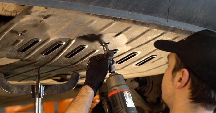 VW TRANSPORTER IV Bus (70XB, 70XC, 7DB, 7DW) 2.4 D 1992 Motorlager wechseln: Kostenfreie Reparaturwegleitungen