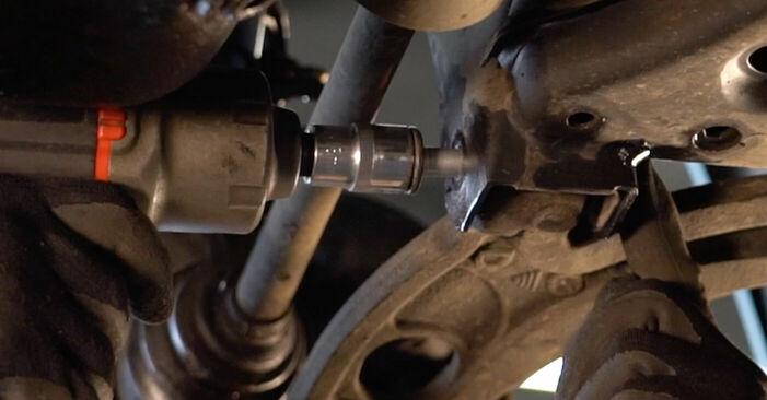 Стъпка по стъпка препоруки за самостоятелна смяна на Fiat Punto 188 2012 1.9 JTD Носач На Кола