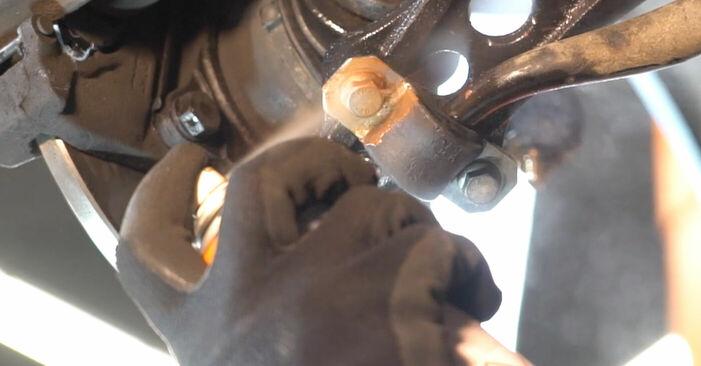 Как се сменя Носач На Кола на FIAT PUNTO (188) 2011 - съвети и номера